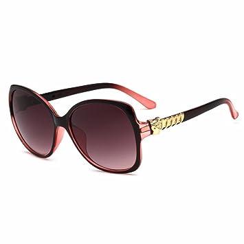 Aoligei Sonnenbrille Damen europäischen und amerikanischen Sonnenbrille Avantgarde Kopf Leopard ig31hWu2