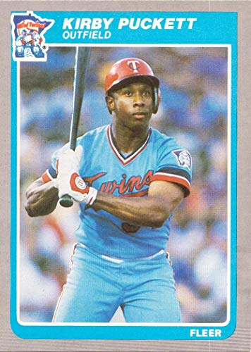 1985 Fleer Baseball #286 Kirby Puckett Rookie Card ()