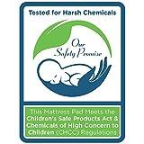 "Sealy Baby Posture 2-Stage Dual Firmness Waterproof Standard Toddler & Baby Crib Mattress, 51.63"" X"