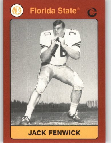 (1990 - 1991 Florida State Collegiate Collection NCAA Football Trading Cards #112 Jack Fenwick - FSU Seminoles)