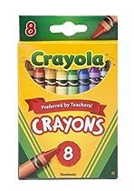 Crayola Crayons,8 Count ( Case of 48 )