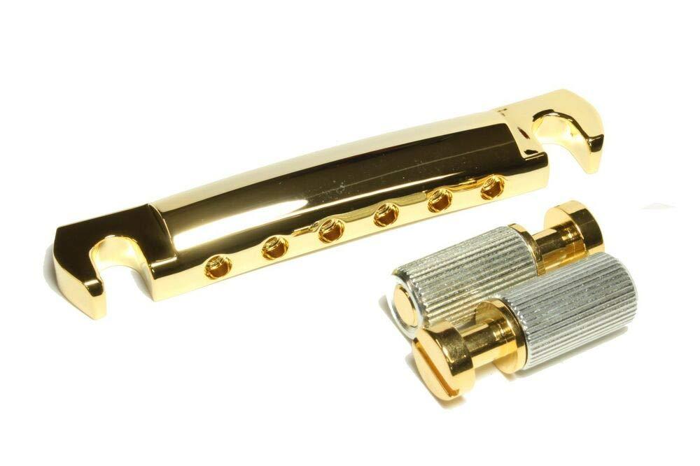 Lightweight Aluminum Tailpiece Mounting Studs Gold for USA Gibson® guitars