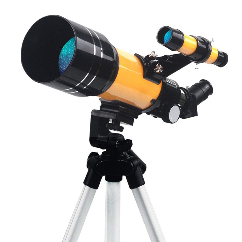 TJSCY Professional Astronomical Telescope, Upgraded Version of High-Definition High-Definition Night Vision Deep Space Star View Moon View Mirror, Suitable for Outdoor, Beginners, Gifts by TJSCY