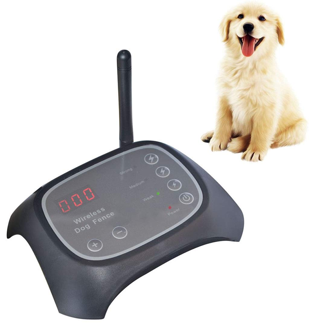 Chuangrong Impermeabile Wireless ricaricabile Pet elettronico Fencer Pet Training Trainer System, distanza remota  100m