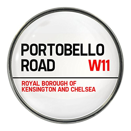 Portobello Road Design Metal Pin Badge