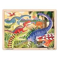 Melissa & Doug Dinosaur Jigsaw Puzzle 24-Piece