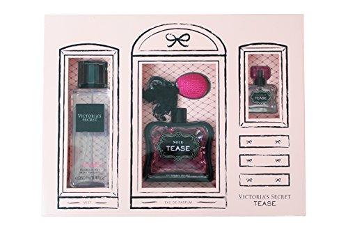 Price comparison product image Victoria's Secret Noir Tease Exclusive Full Set Gift Set *New Presentation*