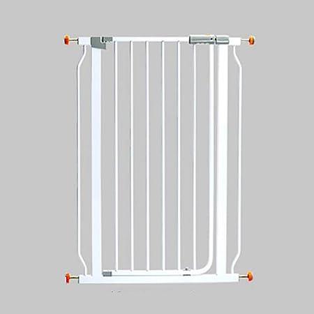 Ccgdgft Puerta de Seguridad for niños de Escalera pasamanos de la Cerca del Perro casero Cerca de Aislamiento Puerta Corte Libre cifrados Blanca Elevación Ancho de la Puerta 76-83cm de Alto 78cm: