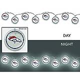 Team Sports America 2LA3809SL Denver Broncos String Lights