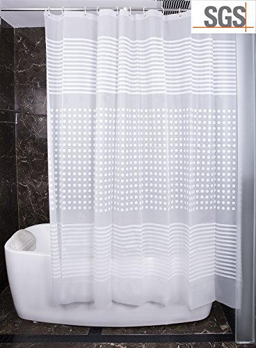 Half Size Shower Curtain Liner   3