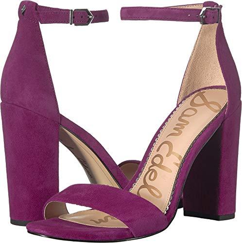 (Sam Edelman Women's Yaro Heeled Sandal Purple Plum 6.5 M US)