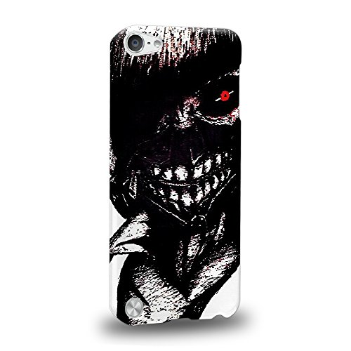 Case88 Premium Designs Tokyo Ghoul Yoshimura Kaneki Ken Protective Snap-on Hard Back Case Cover for Apple iPod Touch 5