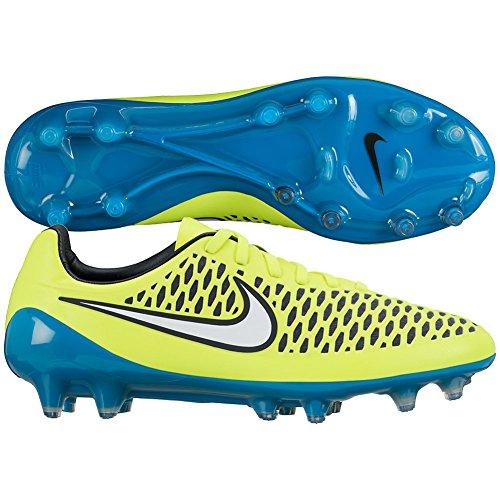 Nike Womens Magista Opus FG Firm Ground Soccer Cleats 7 US, Volt/Blue