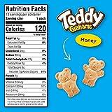 Teddy Grahams Honey Graham Snacks, 10 oz Box