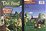 2 Pack DVD Bundle - Life At The Pond: Alligator Hunter & Big Mouth Bass - Stories About Loving Your Enemies and Neighbors - Faith, Fun, and Values Guaranteed