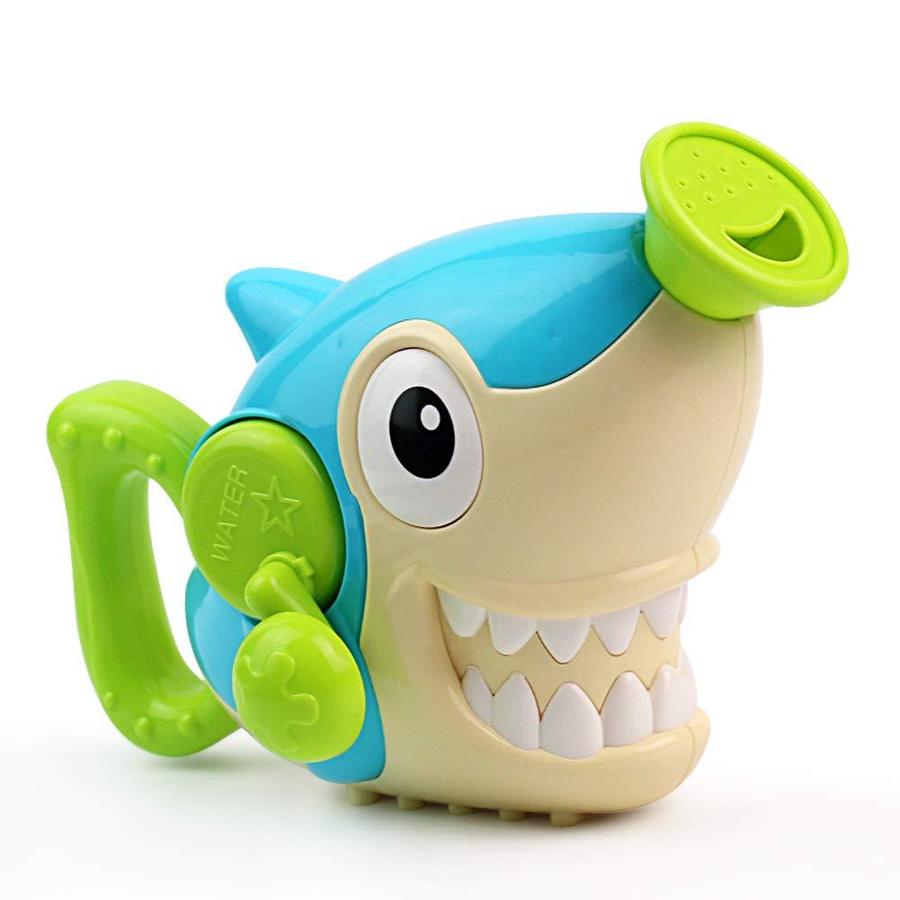 Nuheby Bath Toys Shower Bathtub Bath Time Toys- Water Spray Paddling Pool Swim Toys Shark Shape for Kids Toddler Boys Girls 3 4 5 Years Old