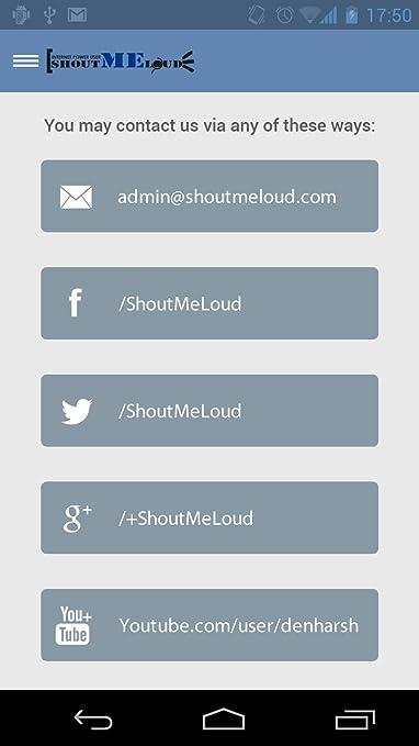 Blogging App ShoutMeLoud