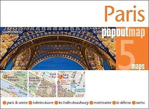 Paris PopOut Map (PopOut Maps) (Best Map Of Paris For Tourists)