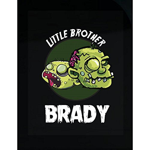 Prints Express Halloween Costume Brady Little Brother Funny Boys Personalized Gift - Sticker]()
