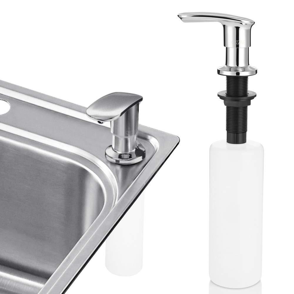 Zinc Alloy/StainlessSteel Sink Cleaner Soap Dispenser Bathroom Kitchen Liquid Soap Dispensers Hand Pump Replacement Dispensers