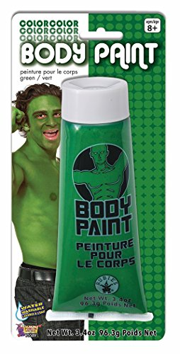 Washable Body Paint 3.4oz Green (Green Body Paint compare prices)