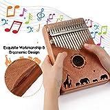Kalimba, FIXM 17 Keys Thumb Piano with Study