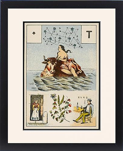 Framed Print Of Lenormand - Europa by Prints Prints Prints