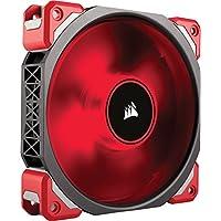 Corsair ML120 Pro LED, rojo, Ventilador de enfriamiento de levitación magnética premium de 120 mm CO-9050042-WW