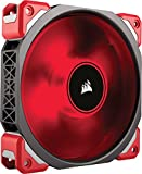 Corsair ML120 Pro LED, Red, 120mm Premium Magnetic Levitation Cooling Fan, CO-9050042-WW