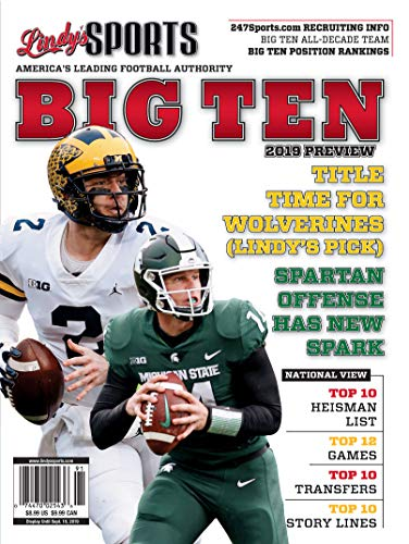 Lindy's 2019 Big 10 College Football Preview - Michigan / Michigan State