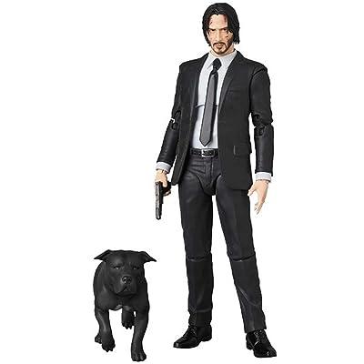 GD-Clothes John Wick Action Figures-John Figure John Toys-PVC Model Plastic Collector Statue: Toys & Games