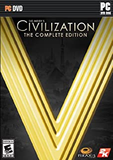 Sid Meier's Civilization V: The Complete Edition (B00I06QCNU) | Amazon price tracker / tracking, Amazon price history charts, Amazon price watches, Amazon price drop alerts