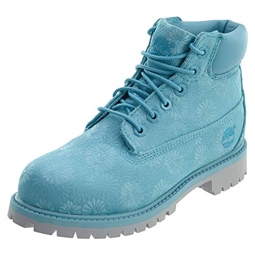 Timberland 6 Inch Classic Boot Little Kids Style: TB0A197O-Blu Size: 1 Blue