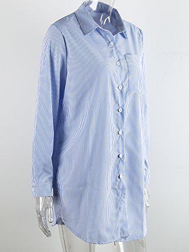 Banda Manica Corti Cintura Abiti Delle Blu Lunga Mini Simplee Con Donne Abbigliamento rnrOgx