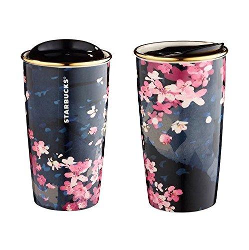 Starbucks 2016 Sakura Travel To-Go Dark Night Mug
