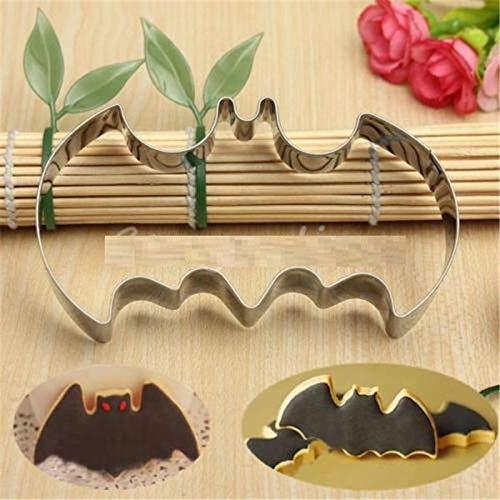 1 piece Hot Halloween Fondant Cookies Cutter Mold Bat Man Vampire Cake Decoration -