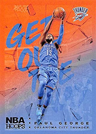 e6701f7ac1c87 Amazon.com: 2018-19 NBA Hoops Get Out The Way Retail Insert #12 Paul ...