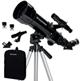 Celestron - 70mm Travel Scope - Portable Refractor Telescope - Fully-Coated Glass Optics - Ideal Telescope for Beginners…