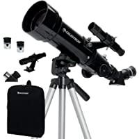Celestron - 70mm Travel Scope - Portable Refractor Telescope - Fully-Coated Glass Optics - Ideal Telescope for Beginners…