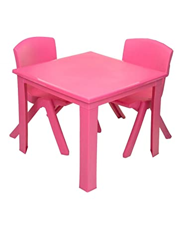 Children Furniture 1pc Premium Plastic Diy Kinder Table And Chair Set With Colorful Alphabet Kinder Study Table Activity Fun Child Toy Children Tables