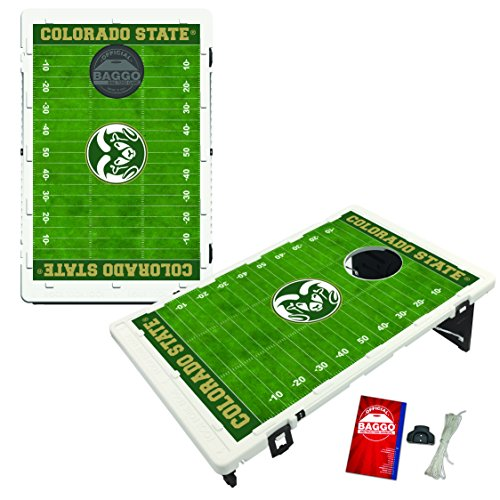 Colorado State Rams Baggo Bean Bag Toss Cornhole Game Homefield Design by Victory Tailgate