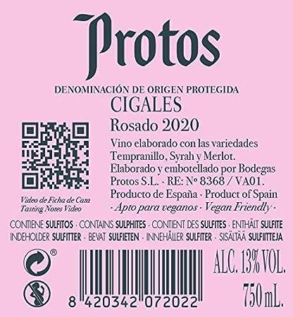 Protos Clarete 75CL, Rose (81583)