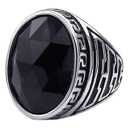 KONOV Crystal Stainless Classic Silver