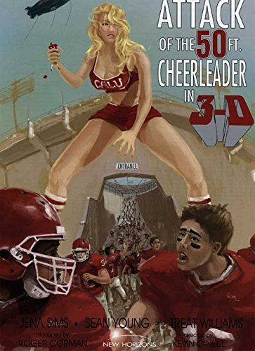 Attack of the 50ft Cheerleader POSTER (27
