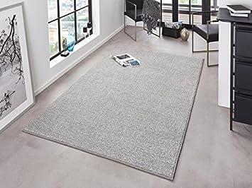 Hanse Home Design Velours Teppich Unifarben Krauselvelours Pure