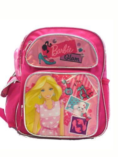 (Small Size Pink Barbie Glam Backpack - Barbie Kids)
