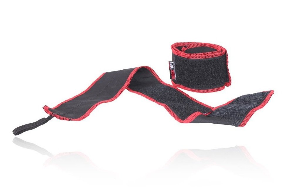 RockTape Wrist Wraps for Weight-Lifting & Exercise, Competition Grade, Designed by Jason Khalipha