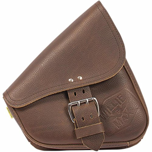 Willie Max Luggage (Willie & Max Limited Edition Brown Leather Swingarm Bag 59907-00)