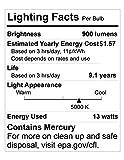 Compact Fluorescent Light Bulb T2 Spiral CFL, 5000k