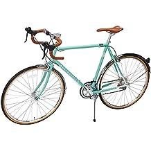 Retrospec Bicycles Kinney 14-Speed Vintage Hybrid Diamond Drop-Bar Frame Bicycle